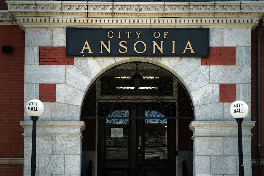 Exterior of Ansonia City Hall, in Ansonia, Conn. Photo: Ned Gerard / Hearst Connecticut Media / Connecticut Post