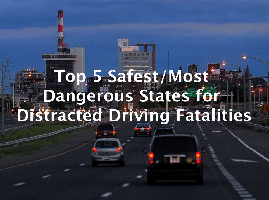 >> Check out the list of the top 5 safest states for distracted driving fatalities as well as the top 5 most dangerous. Photo: Christian Abraham / Connecticut Post