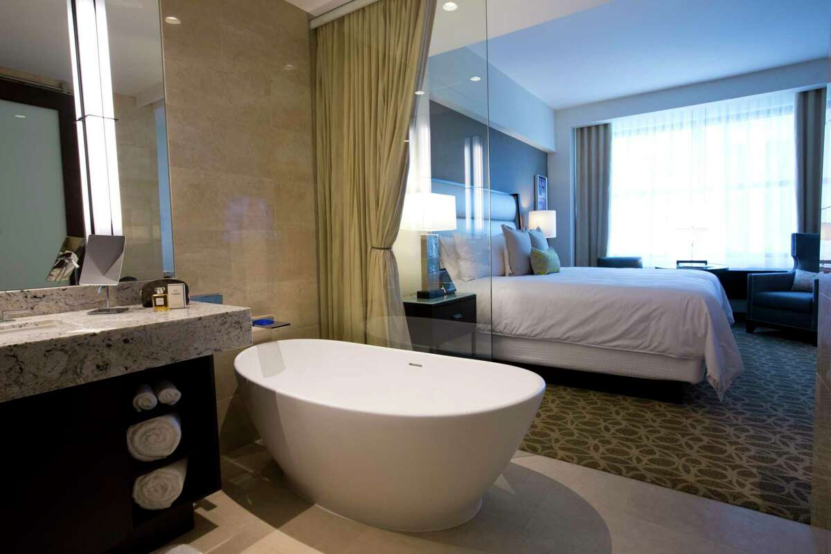 JW Marriott Houston Downtown opened in 2014. The hotel changed hands in the third quarter.