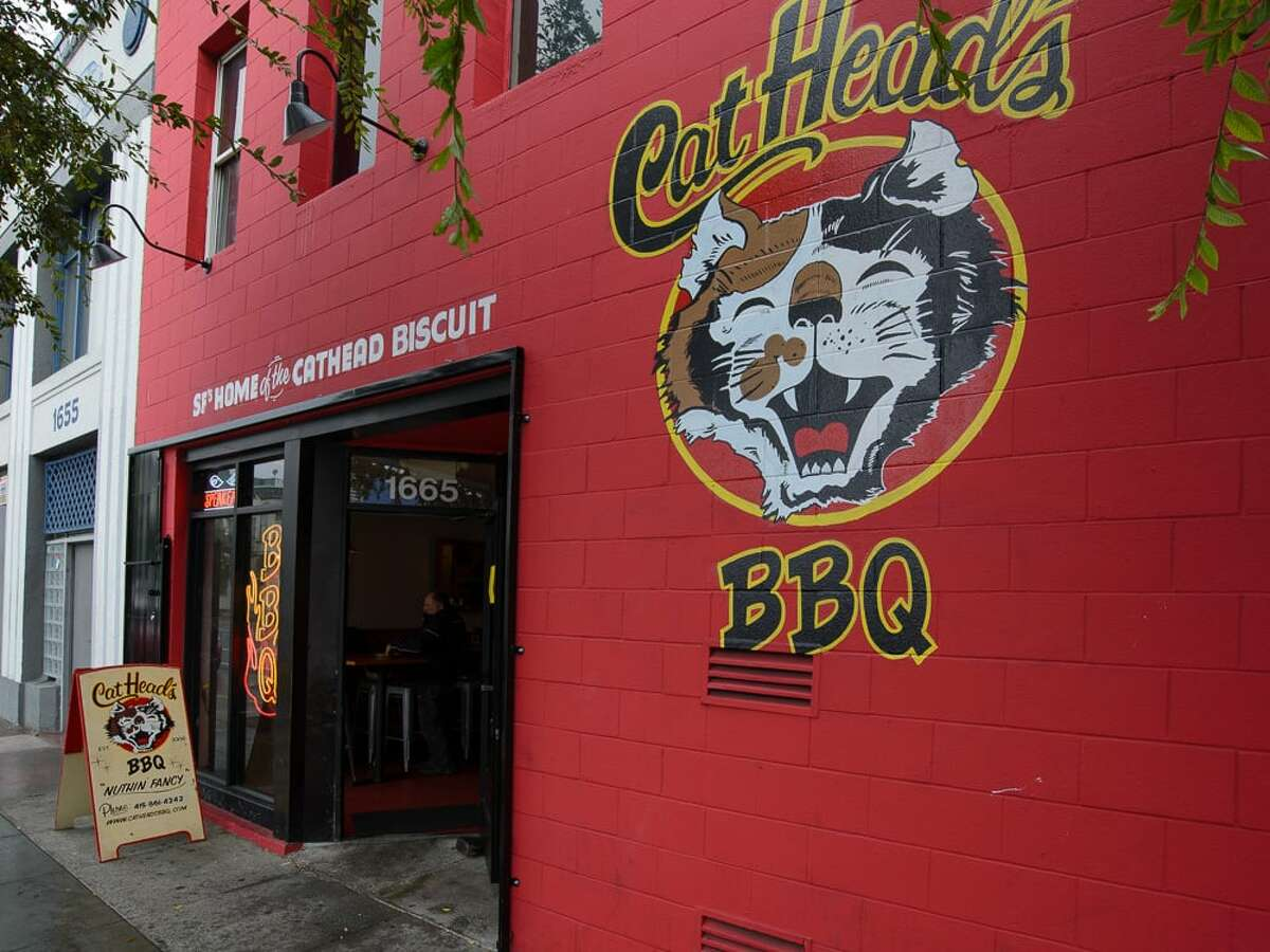 Cathead's BBQ Cuisine: Barbeque Find them: 1665 Folsom St. Inspection date: Aug. 7, 2019