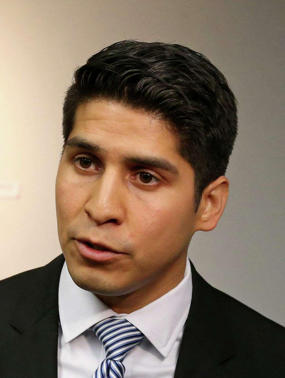 San Antonio City Councilman Rey Saldana