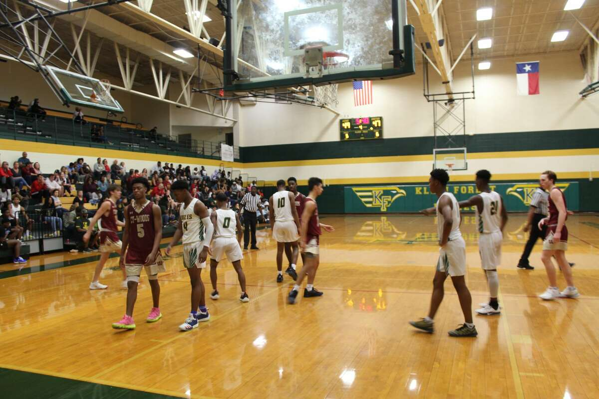 Cy Woods defeated Klein Forest 61-60 in preseason, Nov. 26, at Klein Forest High School.