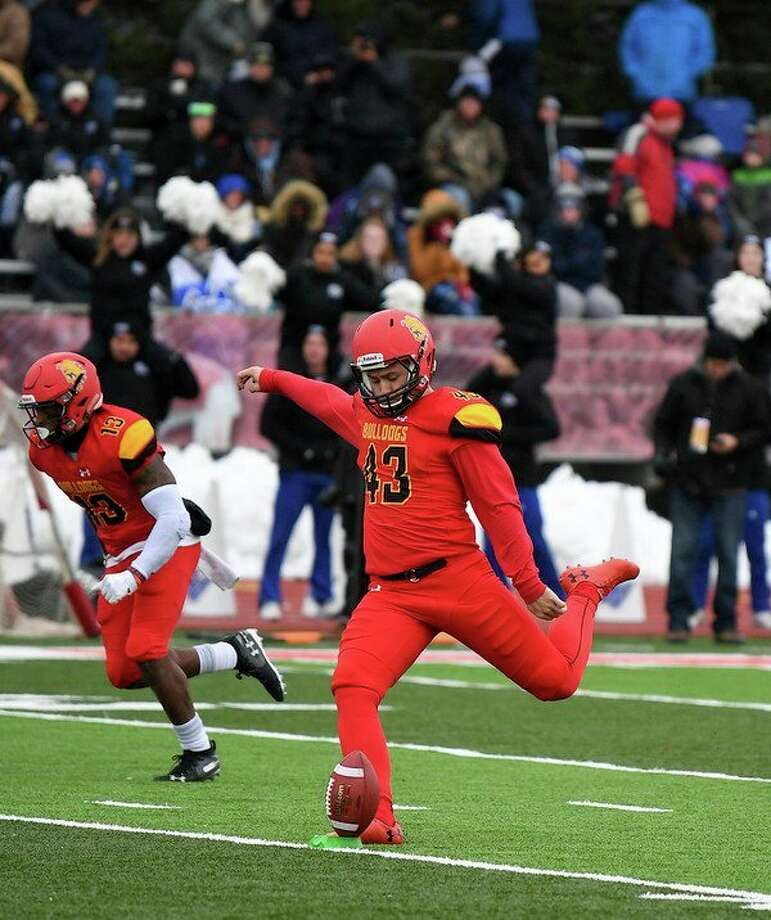 Ferris placekicker Jackson Dieterle has had a solid four seasons for Ferris State. (Photo courtesy of Ferris Athletics)