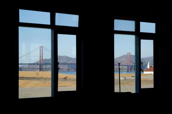 The Golden Gate Bridge seen from 201 Halleck Street in the Presidio on Thursday, Nov. 21, 2019, in San Francisco, Calif.
