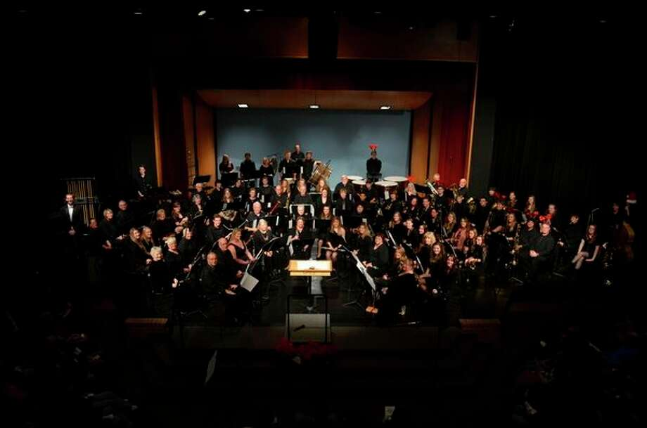 West Shore Community College's musical ensembles will be featured in several holiday performances. (Courtesy Photo)