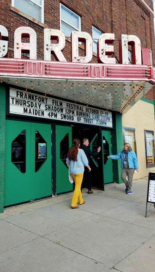 The Garden Theater hosts a variety of community events throughout the year, including the Frankfort Film Festival, which brings people in from all over the world. (Photo/Colin Merry)