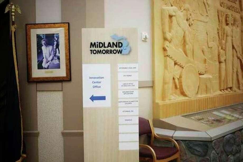 The Midland Business Alliance Innovation Center is located inside the Herbert D. Doan Midland County History Center at 3417 W. Main Street in Midland. (Katy Kildee/kkildee@mdn.net)