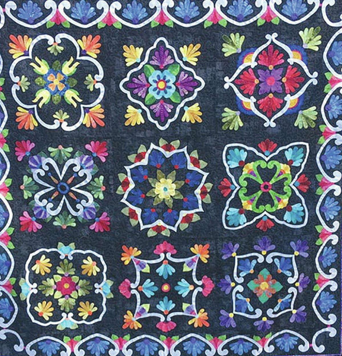 Rosanne Hamilton's quilt,