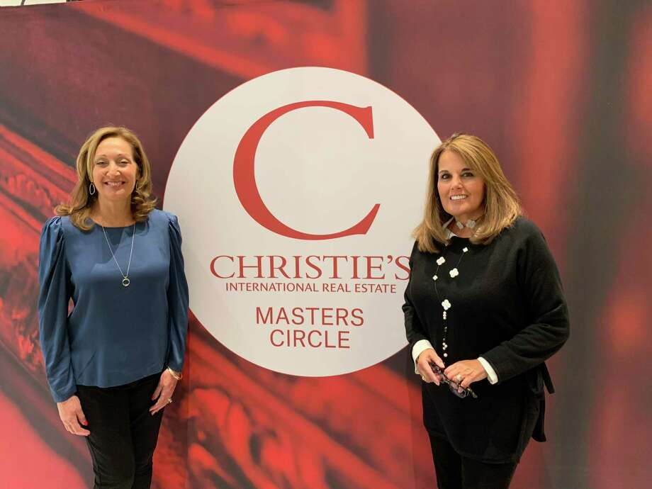 Karla Murtaugh of Neumann Real Estate at the Christie's International Real Estate Masters Circle unveiling in Houston last week. Photo: Contributed Photo