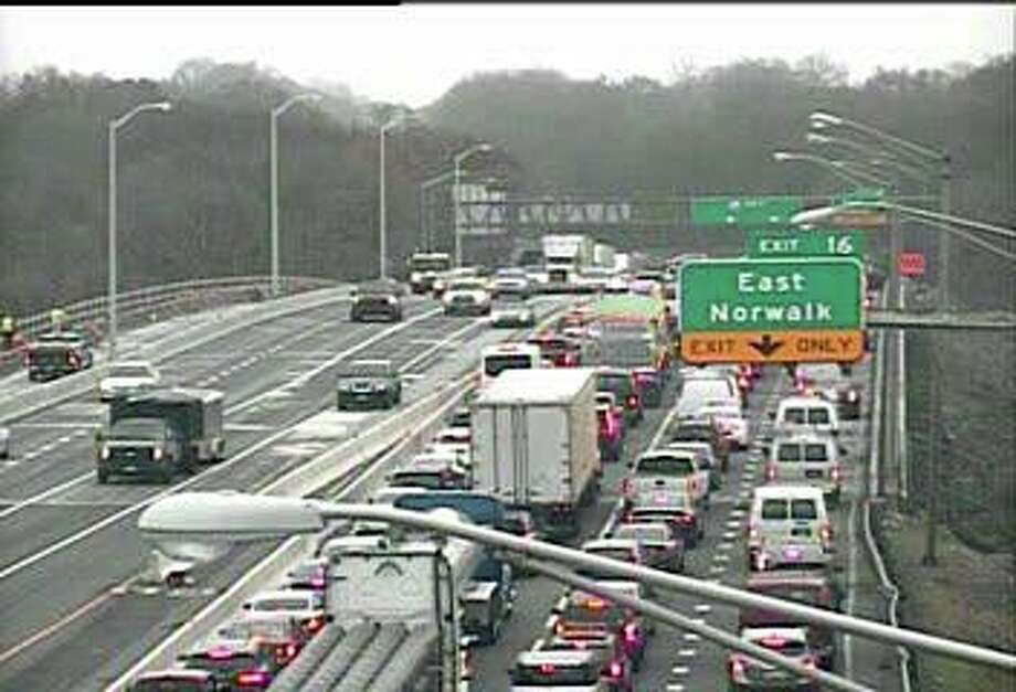 Three lanes are closed on northbound I-95 because of a multi-vehicle accident on Wednesday, Nov. 26, 2019. The accident was reported at 7:44 a.m.