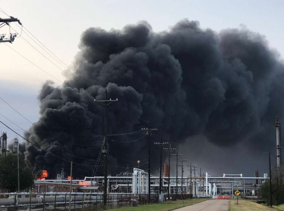 An explosion was reported at TPC Group in Port Neches at about 1 a.m. November 27, 2019. Photo: Kim Brent/The Enterprise