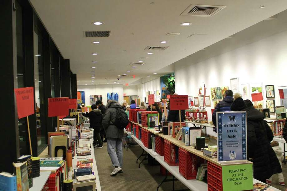 Wilton Library's annual Holiday Book Sale begins Thursday, Dec. 5 at noon and runs during regular library hours through Dec. 29. Photo: Contributed Photo.