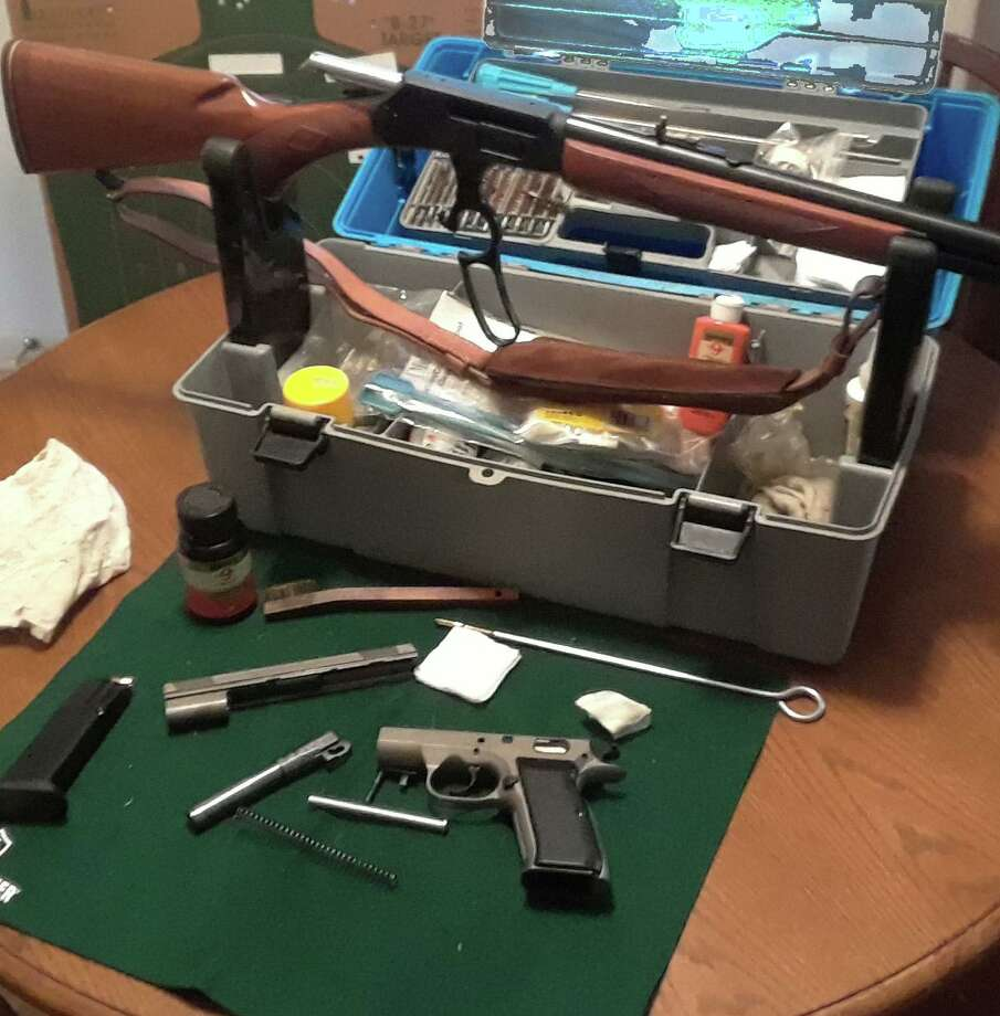 The Courier Outdoors Writer suggests gifts for the angler and hunter that are practical and usable, like a gun cleaning set he received. Photo: Larry J. LeBlanc / Submitted