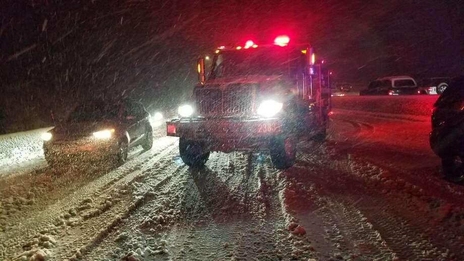 Cal Fire responded to numerous vehicle accidents on I-80 corridor that sent several people to the hospital. Photo: CAL FIRE Nevada-Yuba-Placer Unit