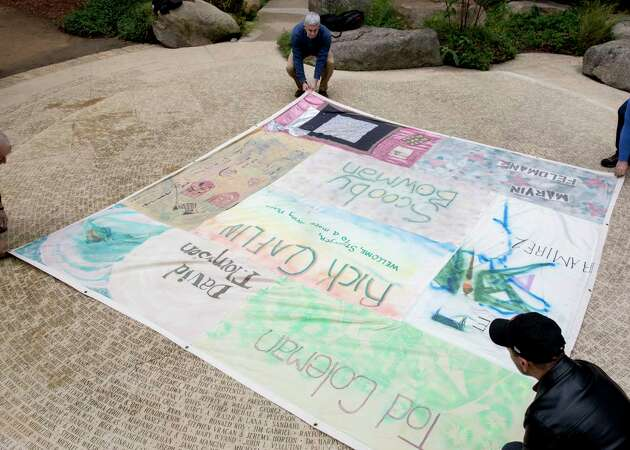 AIDS Memorial Quilt panels arrive home in SF in time for World AIDS Day