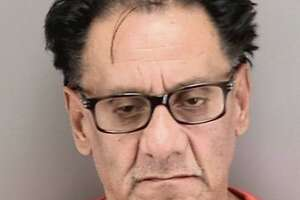 """Suspected """"Wedding Crasher"""" thief Mario Hernandez, 58, of Lancaster, Calif., was arrested Thursday, Nov. 21, 2019, at San Francisco Airport. He was booked into jail on multiple burglary and grand theft counts."""