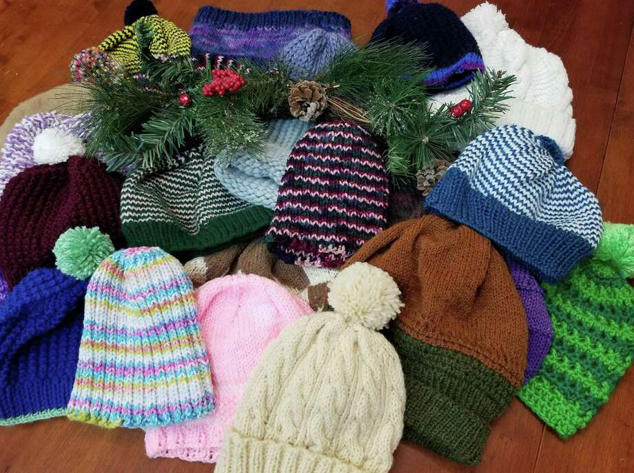 In Sheep's Clothing has begun its annual hat, mitten, and scarf drive for those in need. Photo: Ginger Balch / Contributed Photo