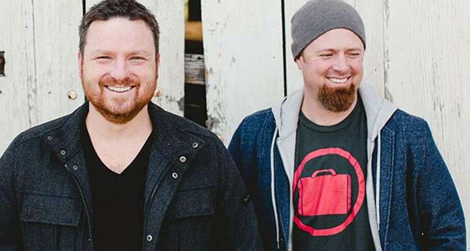 Shane Everett and Shane Barnard form the Christian contemporary band, Shane and Shane. Photo: Fair Trade Services / Courtesy Photo