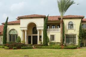 This house in at 11010 N Country Squire Street in Piney Point Village. in Houston, recently on the market for $7 million, is headed for the auction block next month. November 26, 2019.
