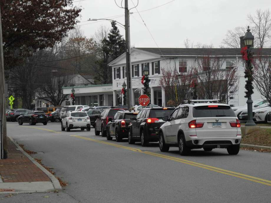 The Wilton Chamber of Commerce is encouraging residents to do their shopping in town to support local businesses. Photo: Jeannette Ross / Hearst Connecticut Media