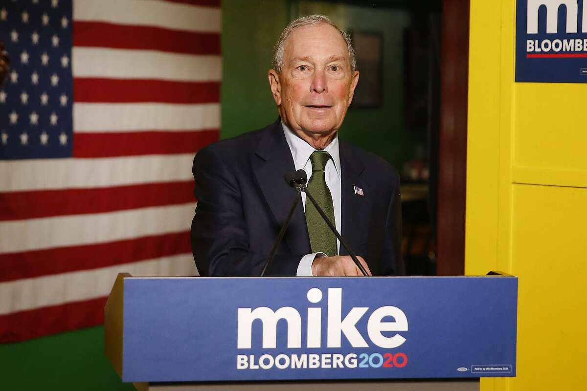 DROPPED OUT: Former New York City Mayor Mike Bloomberg Billionaire Michael Bloomberg was a late entrant in the already crowded race for the Democratic presidential nomination. He joined in November 2019. After spending a half-billion dollars and a poor showing on Super Tuesday he dropped out.