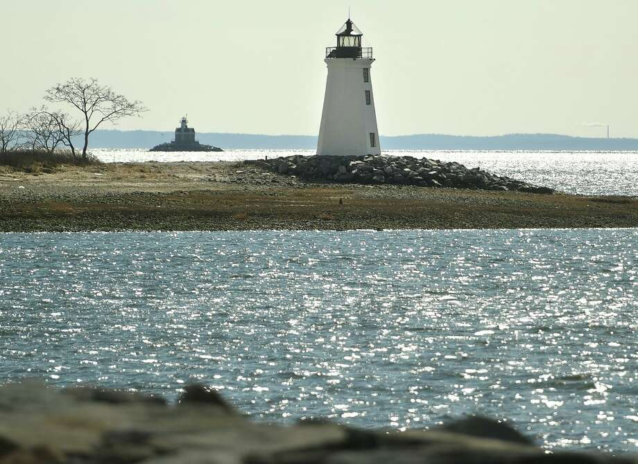 The recently restored Fayerweather Island Lighthouse at the mouth of Black Rock Harbor in Bridgeport. Photo: Brian A. Pounds / Hearst Connecticut Media / Connecticut Post