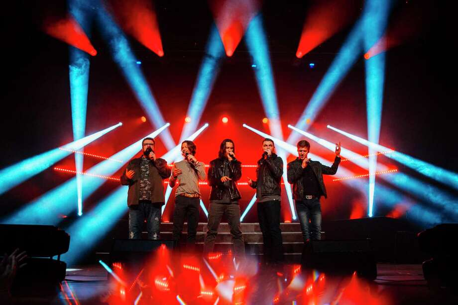 Home Free is an a capella group. Among its members is Nederland native Tim Foust, who will be inducted into the Museum of the Gulf Coast's Music Hall of Fame on Friday. Photo: Courtesy Photo