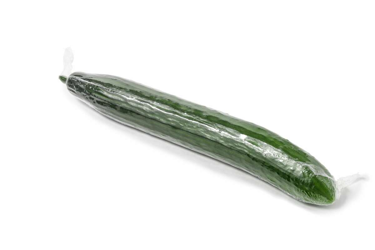 Cucumber In 2019, San Antonio resident Joe Albert Lopez sued H-E-B, alleging a cashier struck him with an English cucumber after he asked if she had scanned the item twice while he was in the checkout lane. According to the lawsuit, the clerk