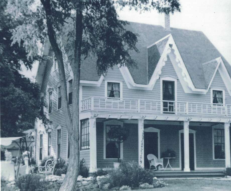 Historical photos of the Harlan House in San Ramon, which has ties to the California Gold Rush and dates back to the 1850s. The house could be restored or razed, depending on a decision by the San Ramon Planning Commission. Photo: Courtesy Of The Museum Of The San Ramon Valley