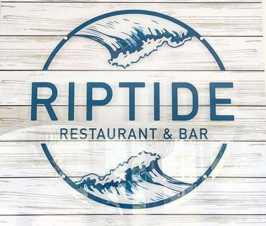 A car did minor damage to RipTide Restaurant and Bar in West Haven, Conn., on Wednesday, Nov. 27, 2019. The RipTide logo photo is from the restaurant's Instagram page. Photo: Contributed Photo / RipTide Restaurant And Bar Instagram