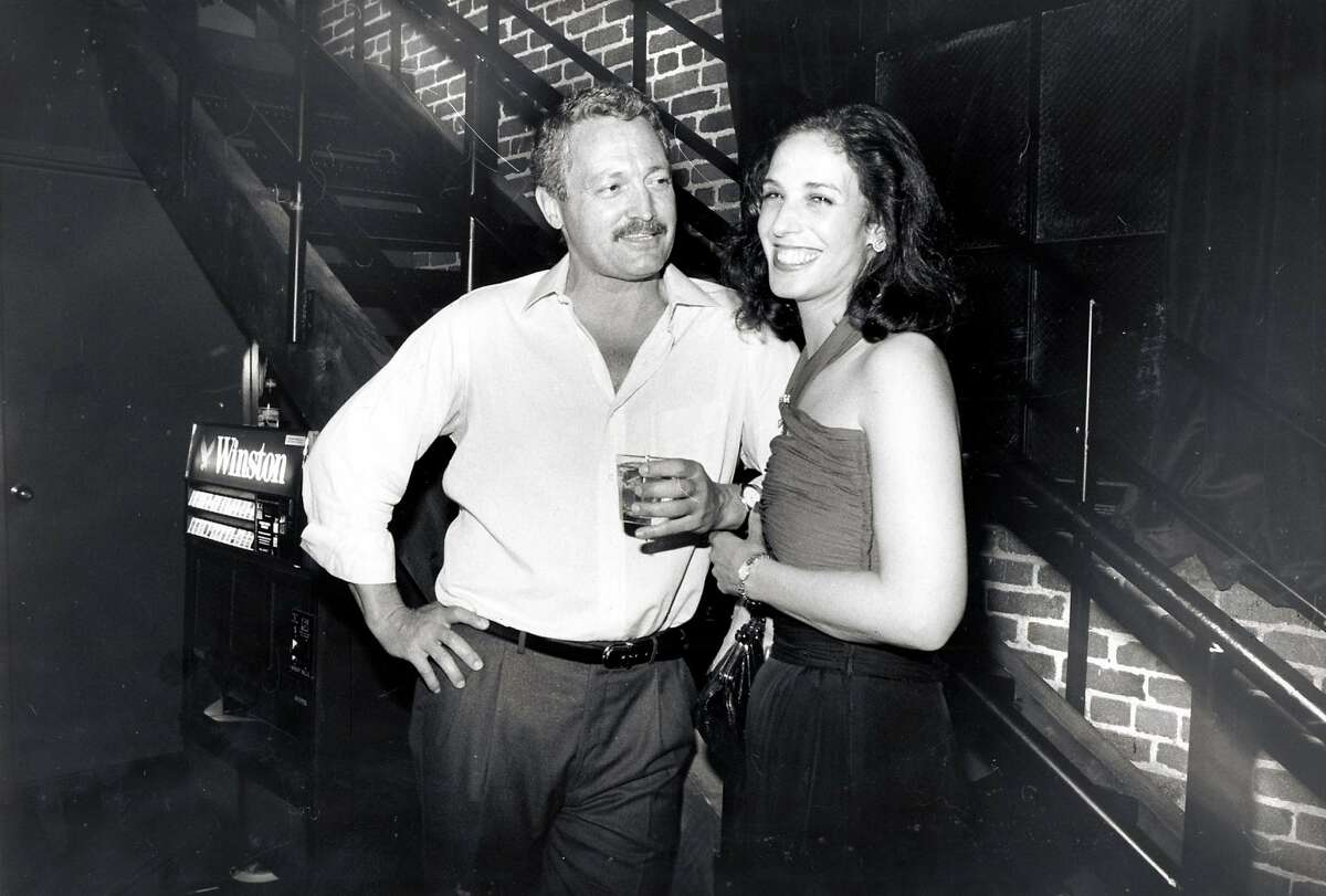 Frank Caufield (venture capitalist and one of the owners of Slim's) with Regina Gindin.