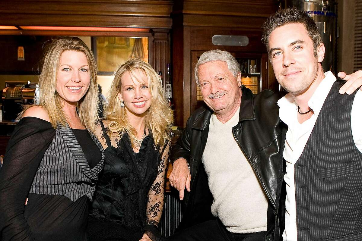 """The San Francisco International Film Festival and Tosca Cafe hosted an after-party for the screening of the recently restored """"Woman Under the Influence,"""" a 1974 classic by John Cassavetes. The party was April 26, 2009. From left to right: Elizabeth Ciabattari, Karen Caufield, Frank Caufield, Eoin Harrington"""