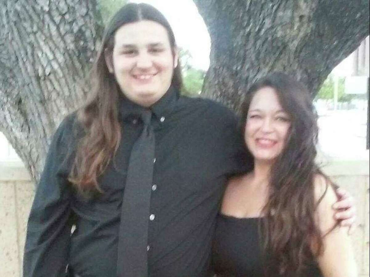 Laura Bond with her son Cody.
