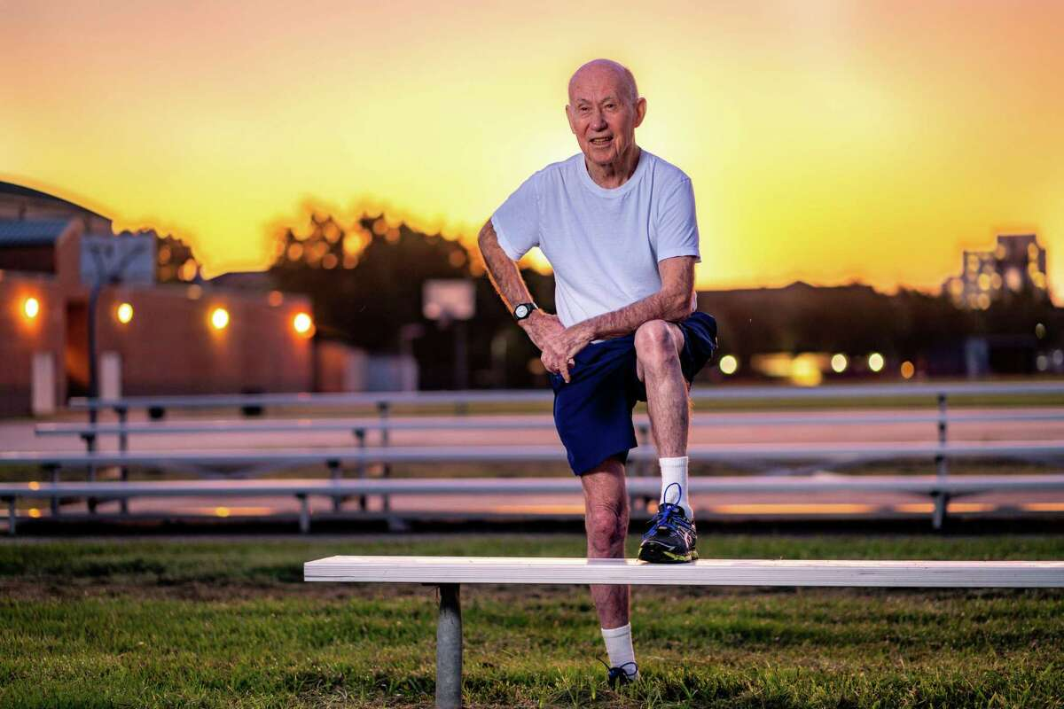 At 89, Ruger Winchester, Air Force Veteran and Buckner Parkway Place resident, is training to run the We Are Houston 5K in January.