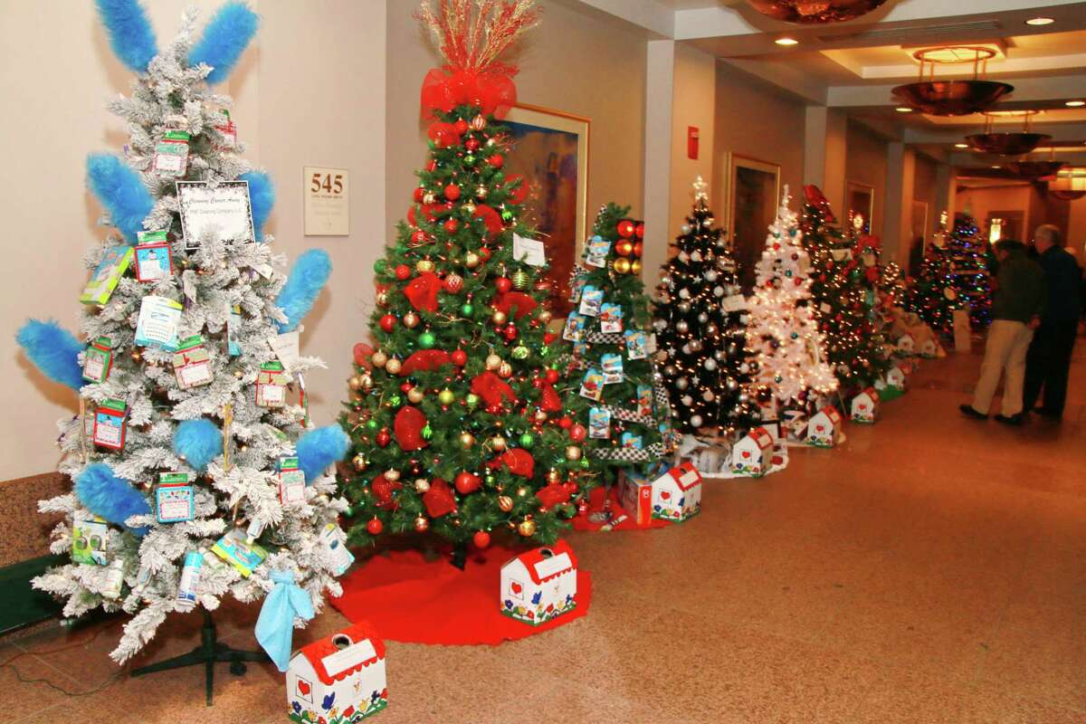 """TREES OF HOPE: Ronald McDonald House of Connecticut's 30th Anniversary Trees of Hope holiday event will be held from Saturday, Dec. 7, to Dec. 15 at the Long Wharf Maritime Center in New Haven.The event will be open daily from 10 a.m. to 5 p.m. with family entertainment and free parking on the weekends. The events supports the """"home-away-from-home"""" for critically ill children and their families at the Ronald McDonald House of Connecticut."""