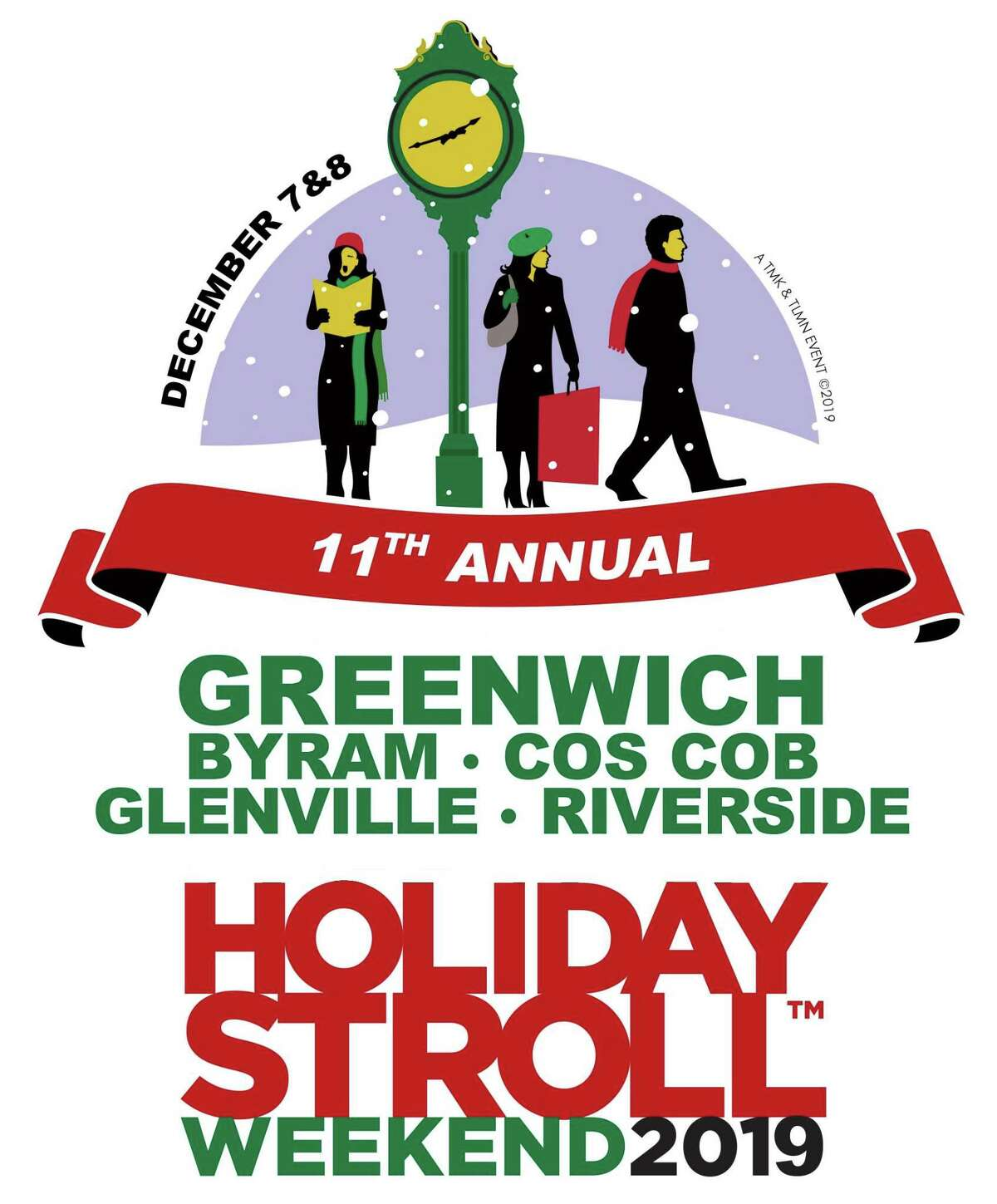 The 11th annual Greenwich Holiday Stroll Weekend takes place this Saturday and Sunday. Find out more.