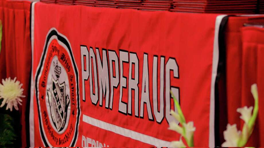 Pomperaug High School's Commencement Ceremony in Southbury, Conn., on Thursday June 13, 2019. Photo: Christian Abraham / Hearst Connecticut Media / Connecticut Post