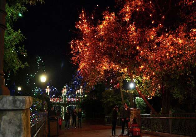 Six Flags Fiesta Texas (included in admission): Holiday in the Park is back and will run from Nov. 21 until Jan. 3. The park is transformed into a winter wonderland with millions of colorful twinkling lights throughout, magical musical shows and special appearances by Santa Claus. Season passes start at $59.99 and one-day tickets start at $29.99. Reservations must be made before heading to the park. Six Flags Fiesta Texas is located at Interstate 10 West at La Cantera Blvd. For more information, call 210-697-5050 or visit sixflags.com/fiestatexas. Photo: RJ /Courtesy Photo
