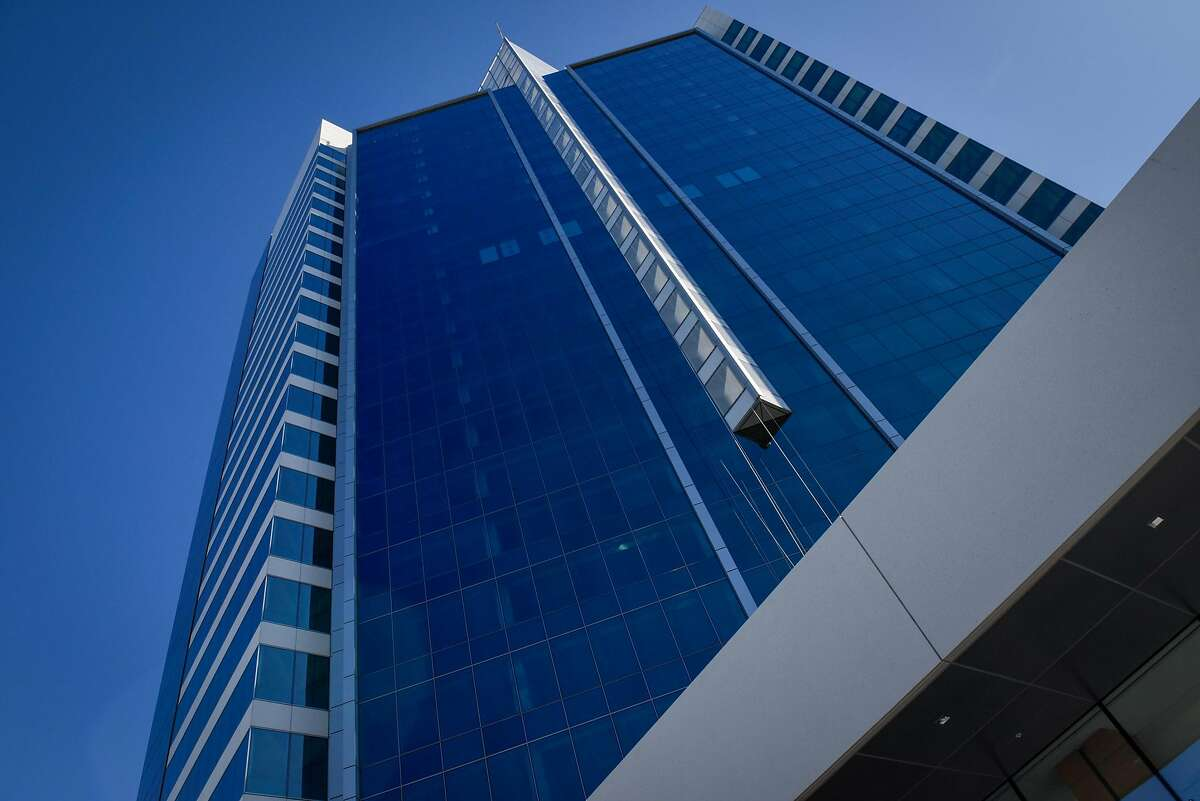 The new Blue Shield headquarters in Oakland on October 21, 2019 in Oakland, Calif.