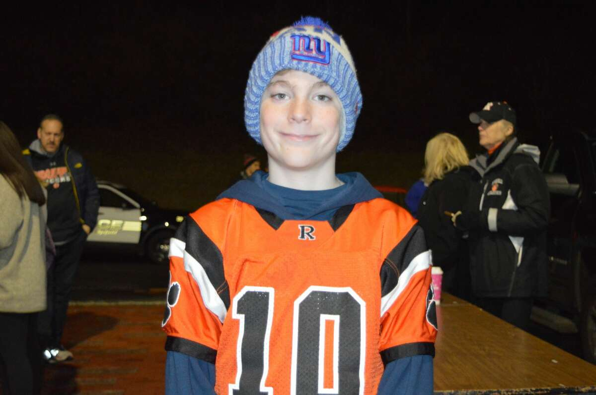 Danbury and Ridgefield high schools faced off on the football field on November 27, 2019. Were you SEEN in the stands?