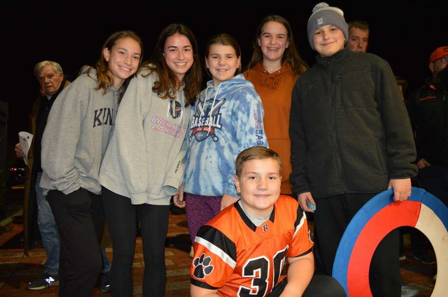 Danbury and Ridgefield high schools faced off on the football field on November 27, 2019. Were you SEEN in the stands? Photo: Todd Tracy