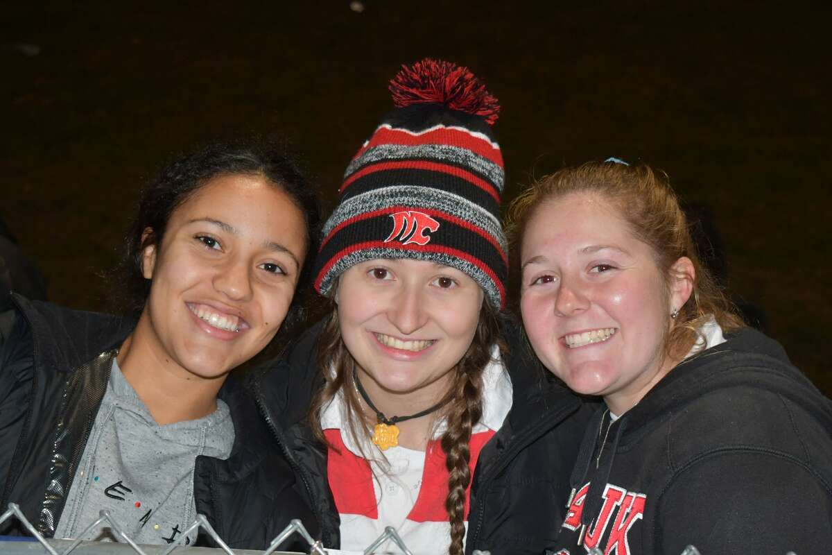 Newtown and Masuk high schools faced off on the football field November 27, 2019. Were you SEEN in the stands?