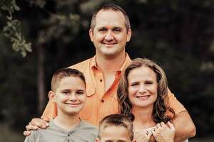State Representative Ernest Bailes has filed for re-election to his seat in House District 18. He is with his wife Courtney and their two sons, Cinco and Rigby.