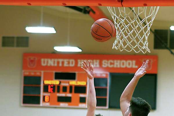 Carlos Guzman scored 11 points in United's 55-44 win over Harlingen South on Wednesday.