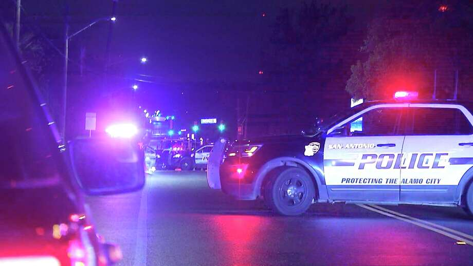 A man was shot and killed by San Antonio police during a standoff on the Northeast Side overnight, Nov. 11, 2019. Officers said the suspect shot his wife in the leg and then himself before SWAT entered the residence. The still armed man was then shot by an officer, police said. Photo: 21 Pro Video
