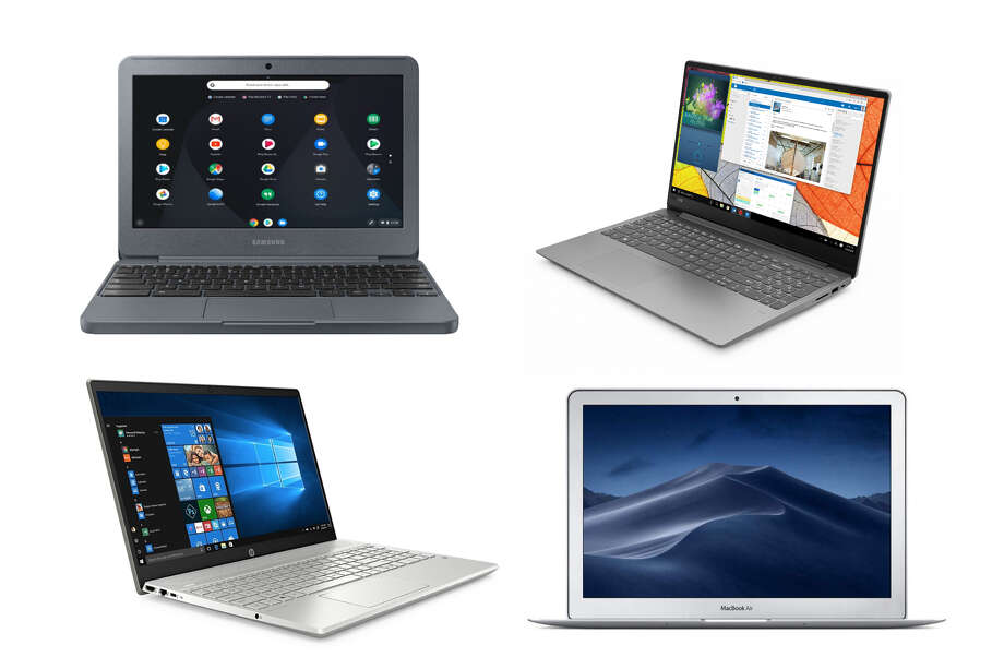 This year's Black Friday laptop deals include a Chromebook for as little as $89.99, or a Macbook Air for $699. Photo: SFGATE