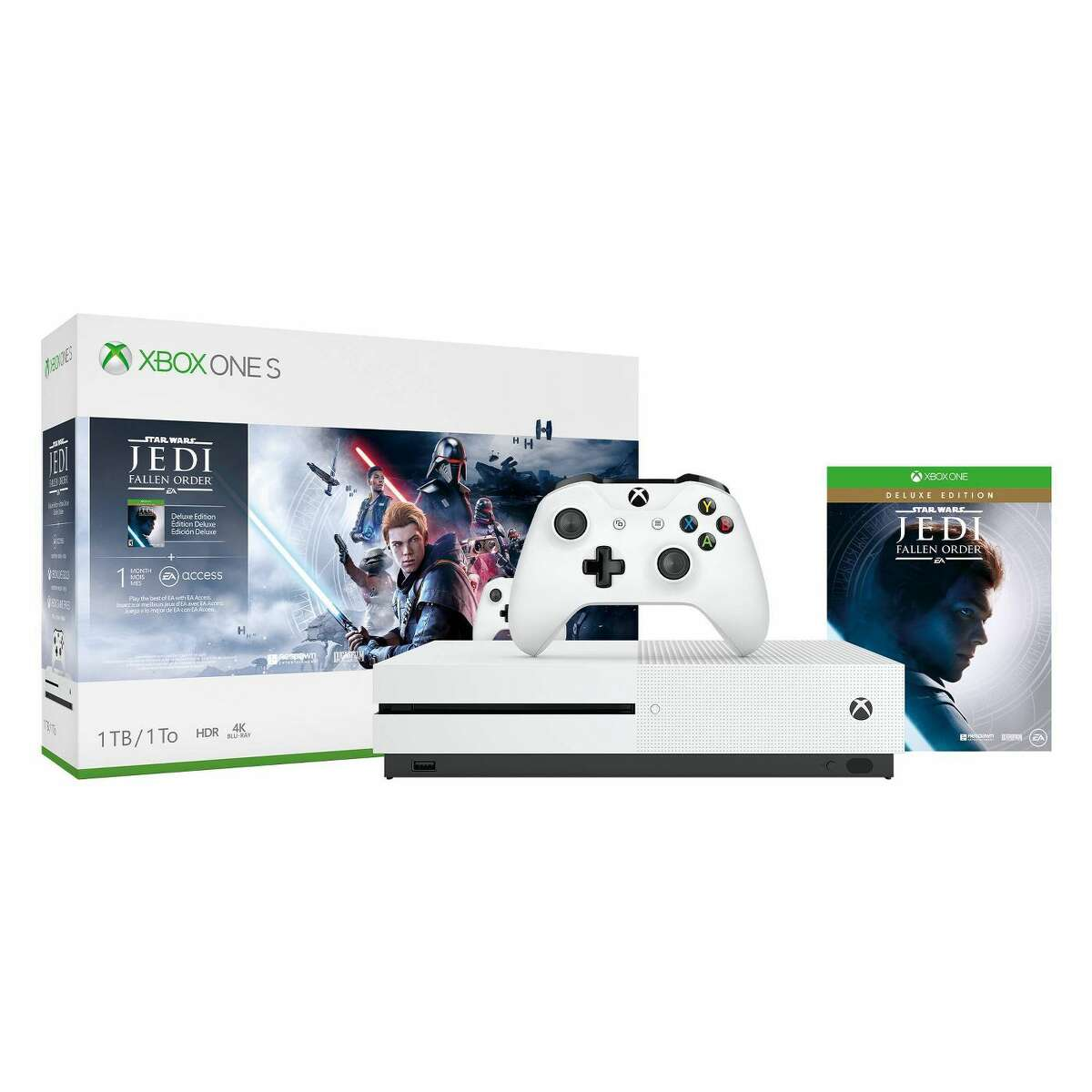 Target's selling this Star Wars Xbox One bundle for the same price as Amazon, but throwing in a $40 gift card to boot.