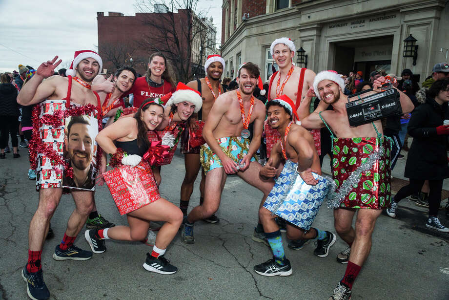Were you Seen at the 72nd annual Troy Turkey Trot in downtown Troy on Nov. 28, 2019? Photo: DTrae Carter / ©Lark Street Photo