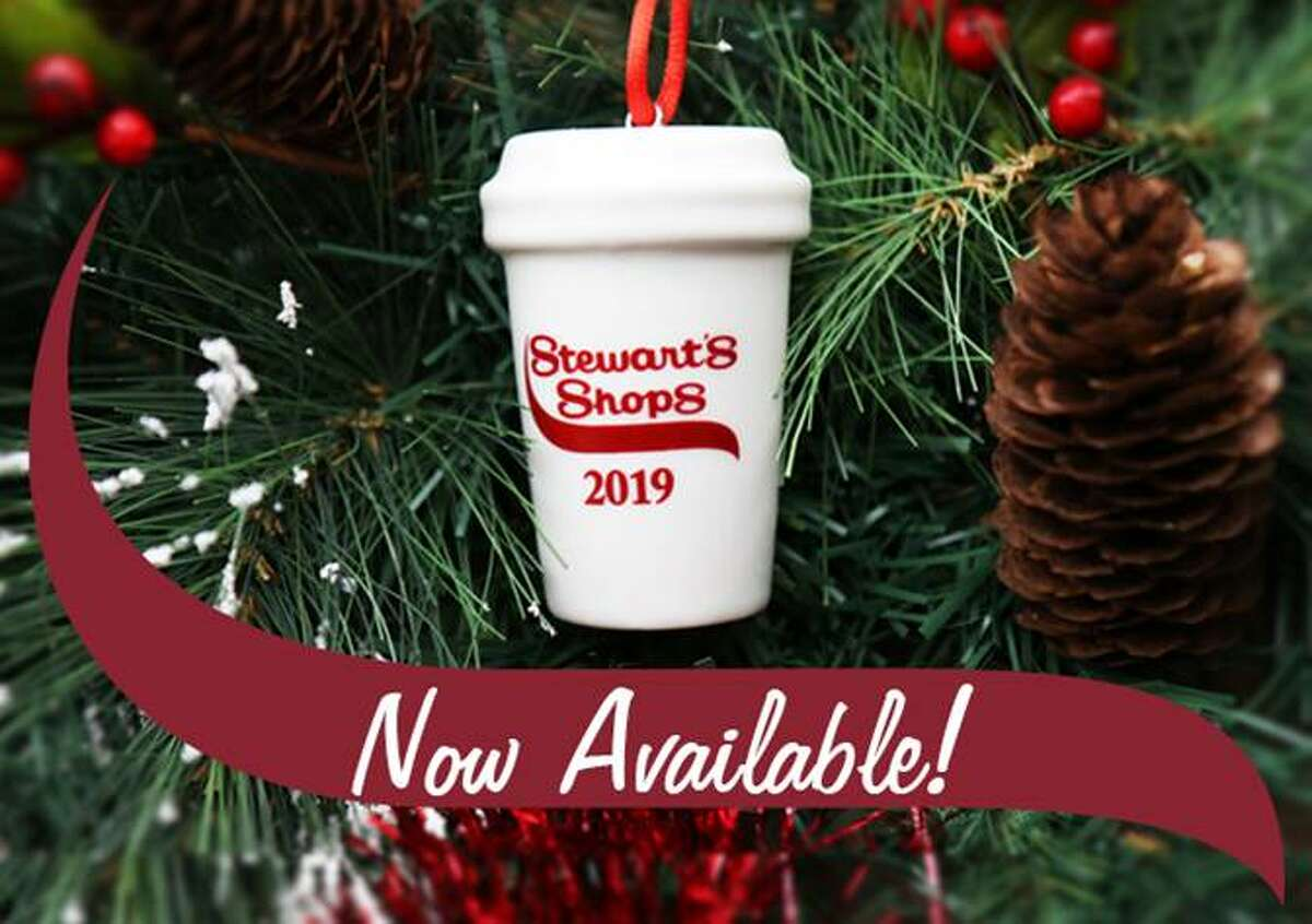 Stewart's Shops are offering a coffee cup ornament for the first time this year for your Christmas tree.