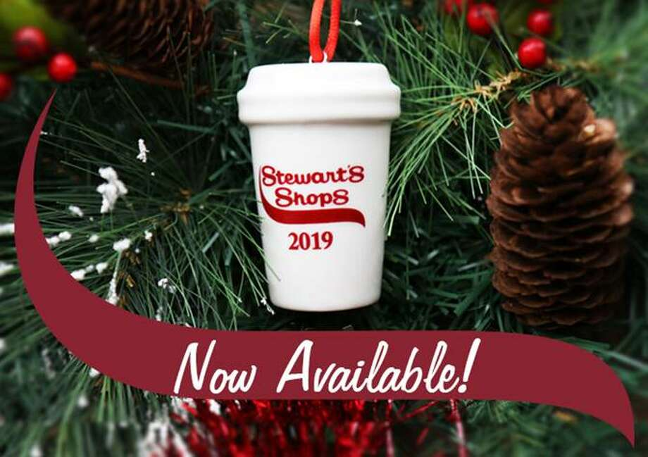 Stewart's Shops are offering a coffee cup ornament for the first time this year for your Christmas tree. Photo: Stewart's Shops